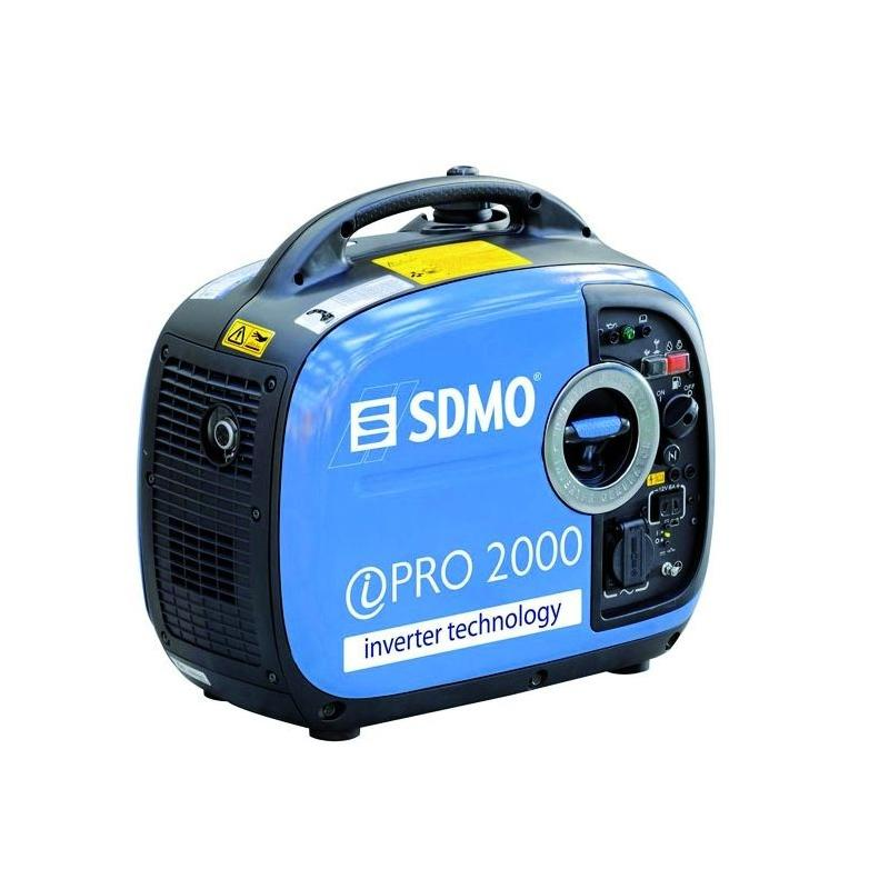 GRUPO ELECTROGENO GASOLINA MONOFASICO 2.000 W. INVERTER