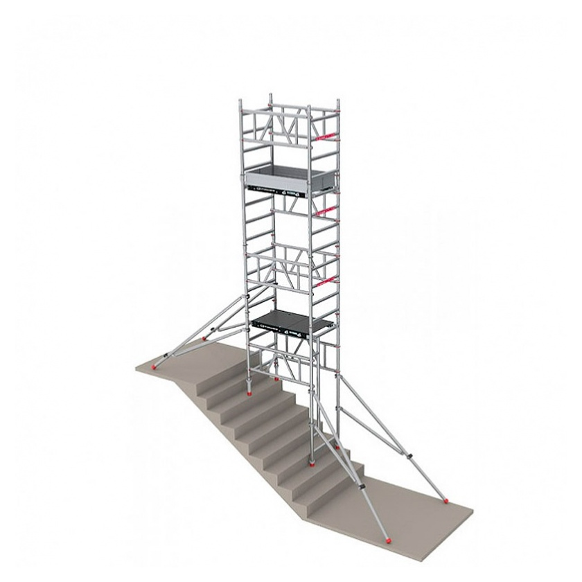TORRE ANDAMIO ALUMINIO PACK 3 (+PACK1+PACK2 ALTURA TRABAJO 5,60 MTS. )