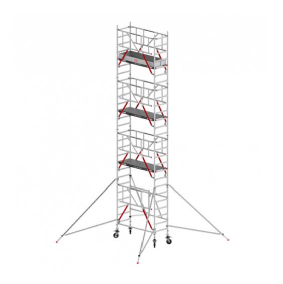 TORRE AND. ALUMINIO RS 54 (ALTURA TRABAJO 8,80 M)