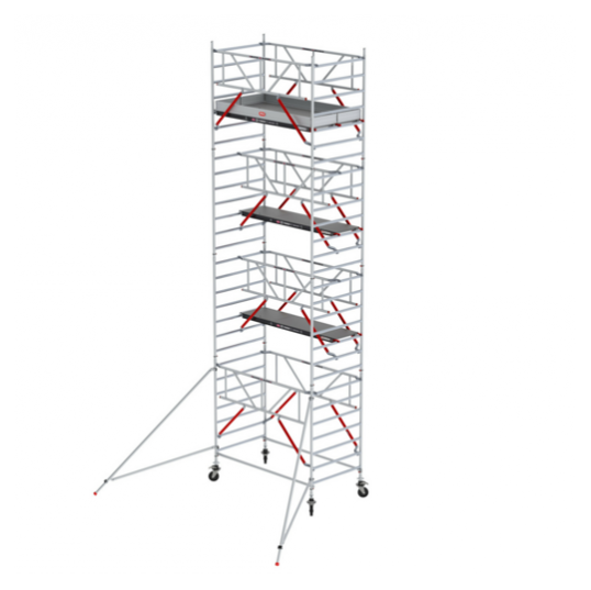 TORRE AND. ALUMINIO RS 52 (ALTURA TRABAJO - 8,20 M)